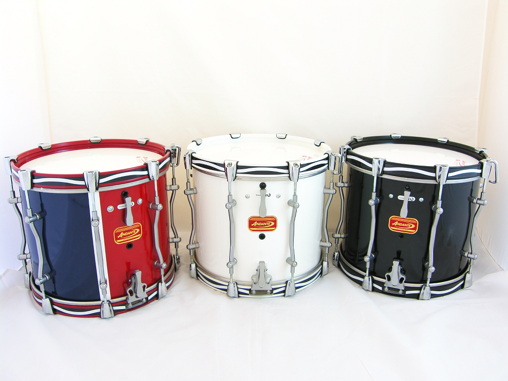 andante 481 advance military side drum single snare the marching band shop. Black Bedroom Furniture Sets. Home Design Ideas