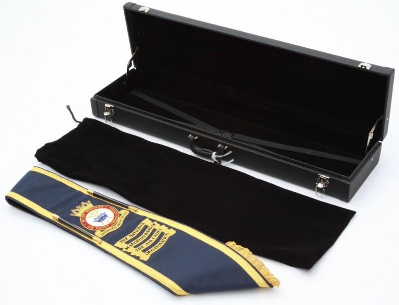 ATC Drum Majors Sash & Case (2)