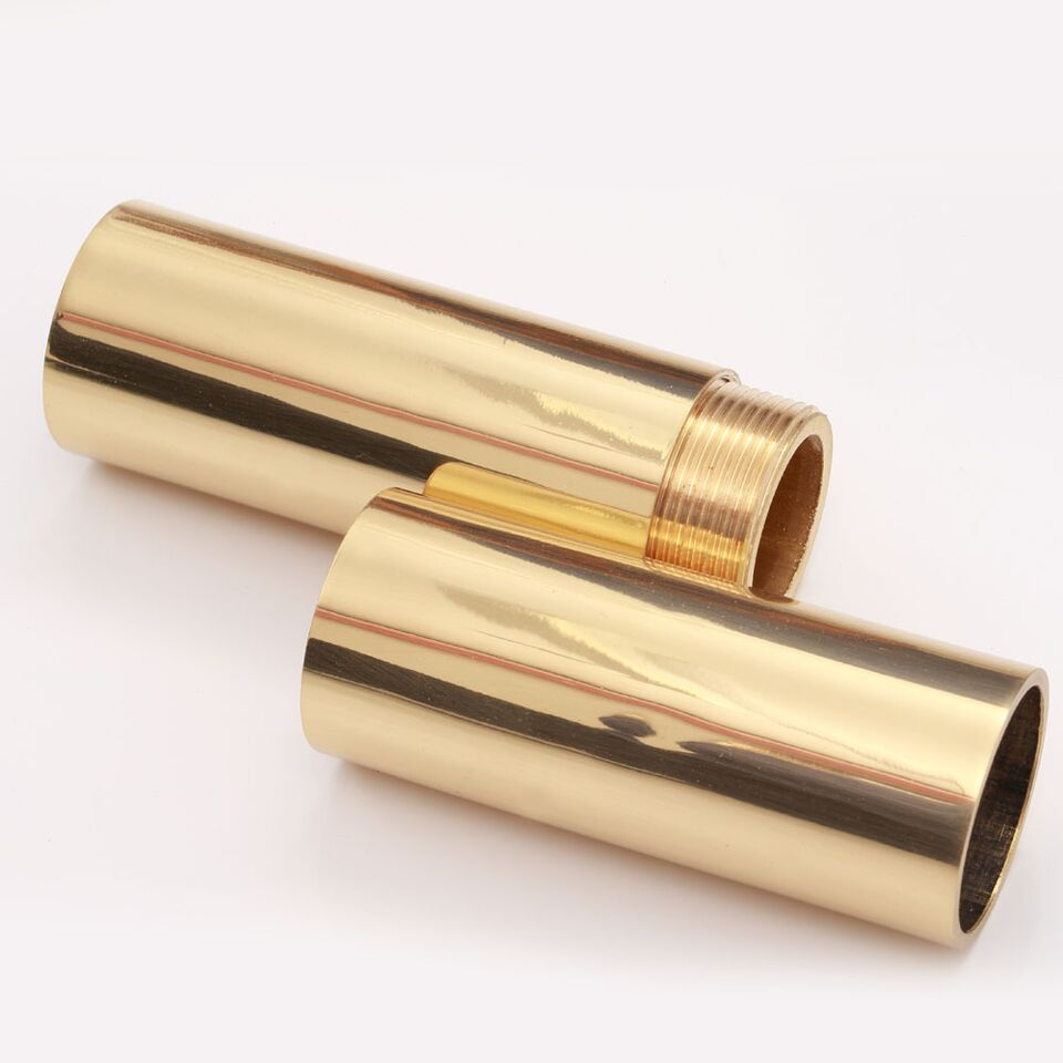 Brass flag pole screw joint the marching band shop