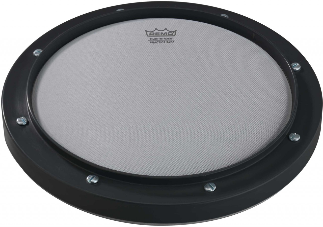 remo 8 39 silent stroke 39 tuneable practice pad the marching band shop. Black Bedroom Furniture Sets. Home Design Ideas