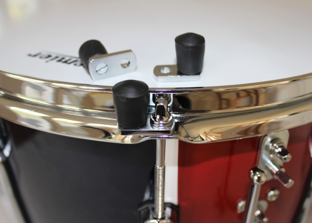 drum feet for metal hooped drums pack of 3 feet the marching band shop. Black Bedroom Furniture Sets. Home Design Ideas