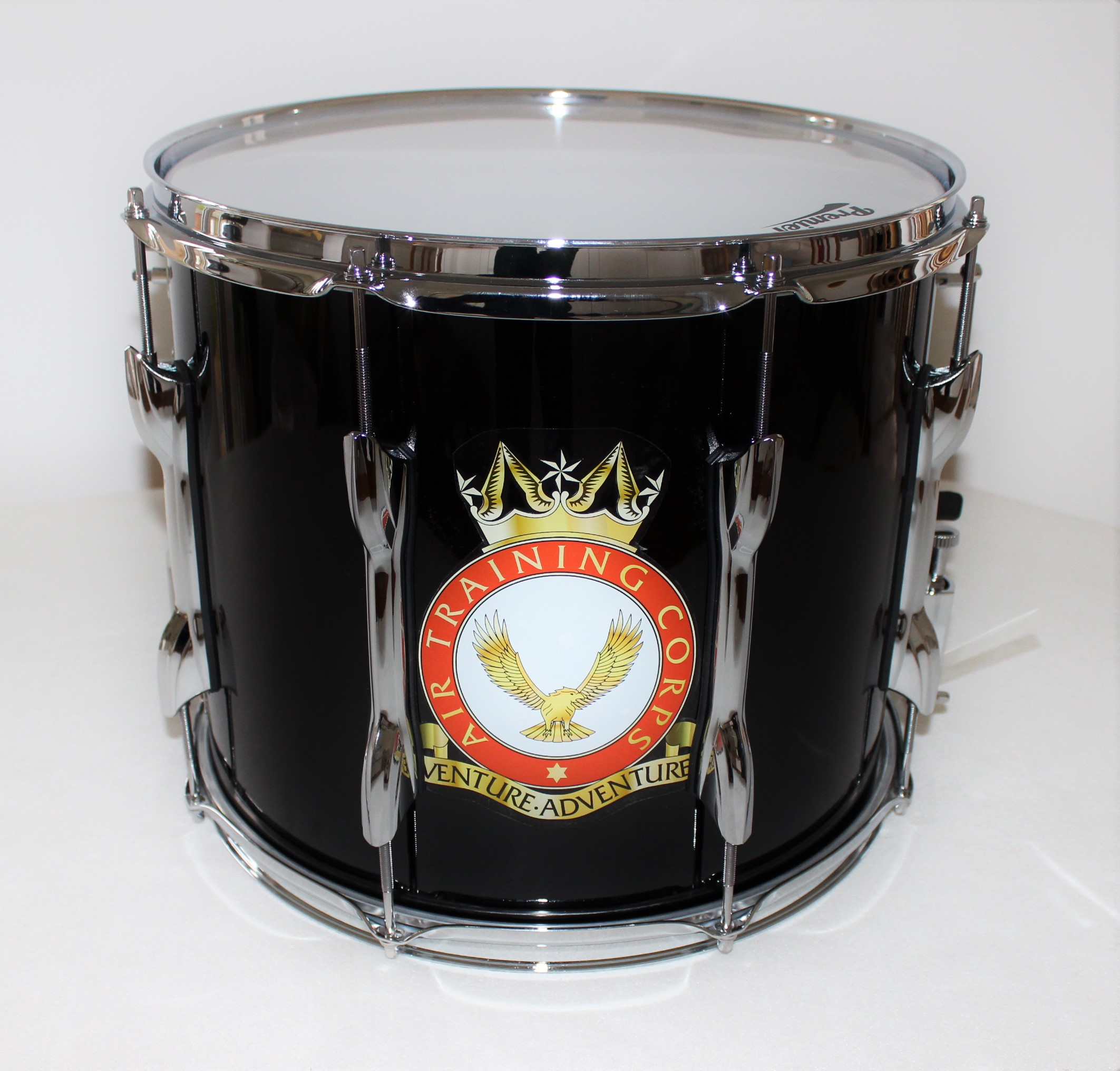 Air training corps crest drum stickers