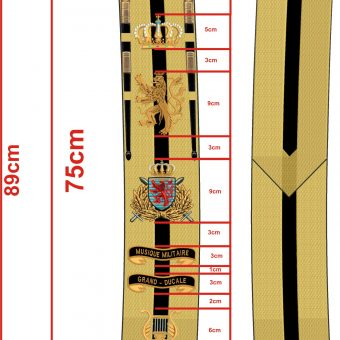 Luxembourg Sash with sizing 25-08-2017