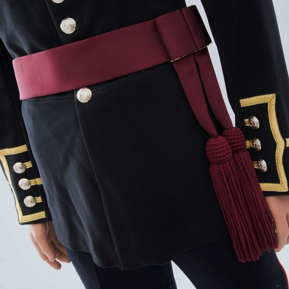 Director Of Music S Officers Crimson Waist Sash The