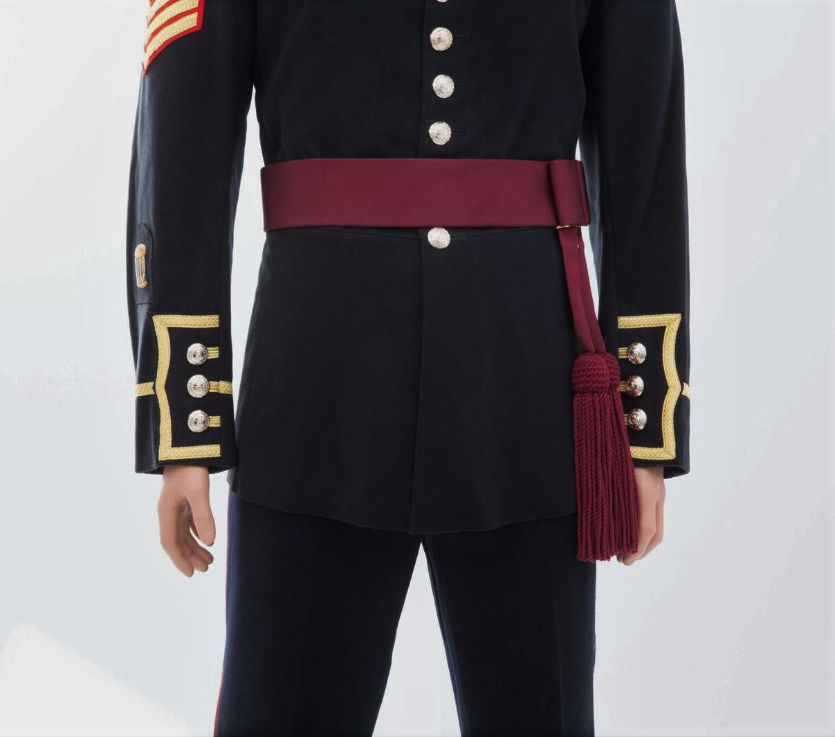 Director of Music's/Officers 'Crimson Waist Sash'