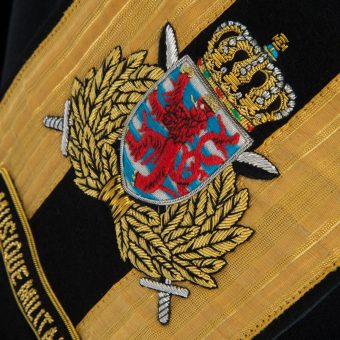 Luxembourg Army Drum Majors Sash 2