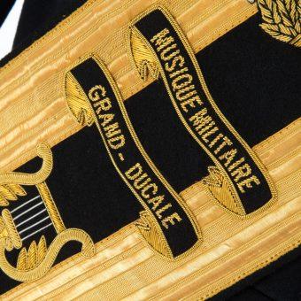 Luxembourg Army Drum Majors Sash 3